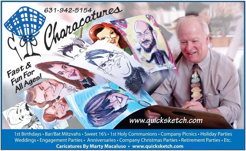 caricature artist promo Feel free to make a copy of this promo! caricaturist ny